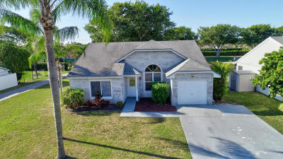Boca Raton Single Family Home For Sale: 8276 Cedar Hollow Lane