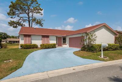 Boca Raton FL Single Family Home For Sale: $300,000
