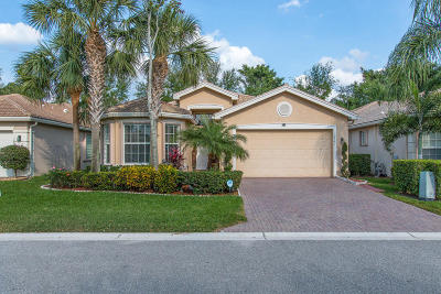 Boynton Beach Single Family Home For Sale: 10884 Green Valley