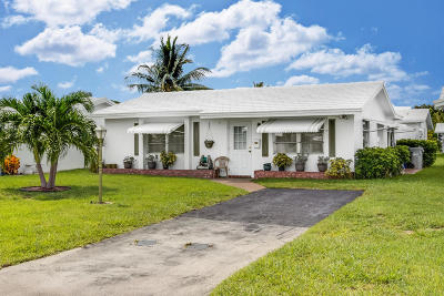 Pompano Beach Single Family Home For Sale: 190 Leisure Boulevard