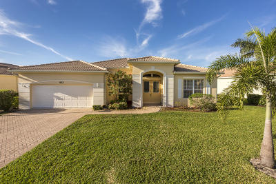 Port Saint Lucie Single Family Home For Sale: 633 SW Long Key Court