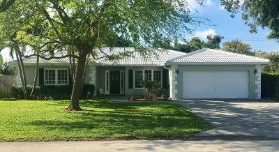 Boca Raton Single Family Home For Sale: 1070 SW 16th Street