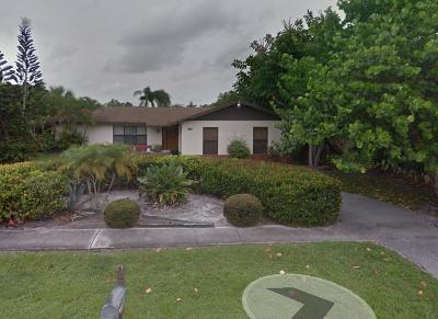 Jupiter Single Family Home For Sale: 700 Perry Avenue