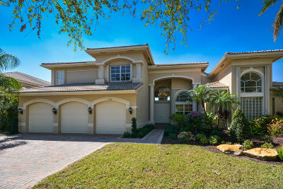 Boca Raton Single Family Home For Sale: 19534 Saturnia Lakes Drive