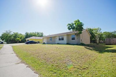 Port Saint Lucie Single Family Home For Sale: 522 NW Marion Avenue