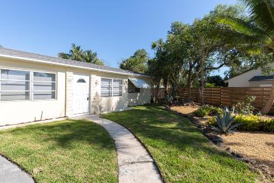 Lake Worth Single Family Home For Sale: 139 Prospect Road