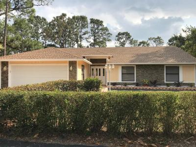 West Palm Beach Single Family Home For Sale: 12862 66th Street