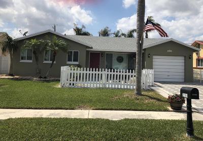Boca Raton FL Single Family Home For Sale: $309,000