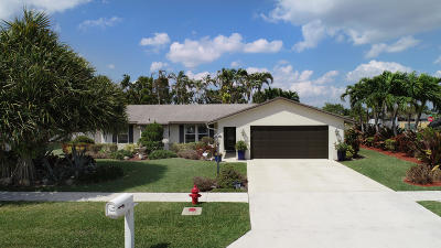 Boynton Beach Single Family Home For Sale: 5163 Little Beth Drive