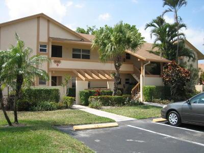 Delray Beach Condo For Sale: 5566 Queen Palm Court #D