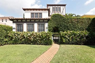 West Palm Beach Single Family Home For Sale: 217 Greenwood Drive