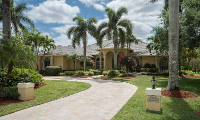 Palm Beach County Single Family Home For Sale: 15400 Emmelman Road