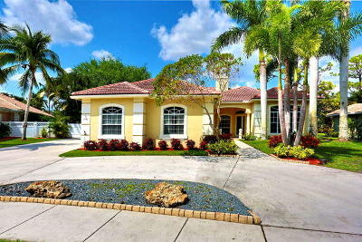 Boynton Beach Single Family Home For Sale: 4880 Glenn Pine Lane