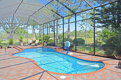 Port Saint Lucie Single Family Home For Sale: 8048 Links Way