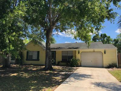 Port Saint Lucie Single Family Home For Sale: 2171 SE New York Street