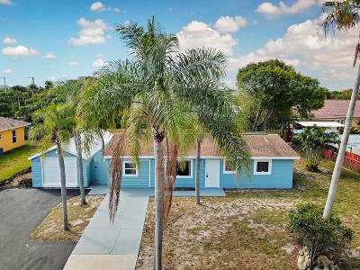 Lake Worth Single Family Home For Sale: 3056 Starboard Drive