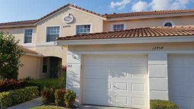 Boynton Beach Condo For Sale: 12454 Crystal Pointe Drive #102