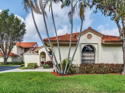 Boynton Beach Single Family Home For Sale: 8300 Waterline Drive #106
