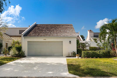 Jupiter Single Family Home For Sale: 17048 Traverse Circle