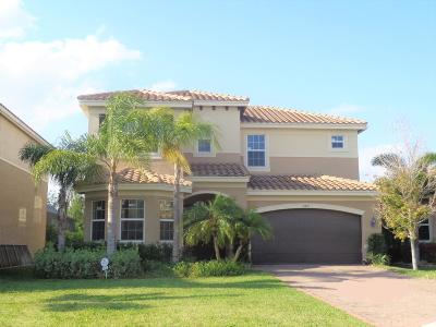Boynton Beach Single Family Home Contingent: 8237 Savara Streams Lane
