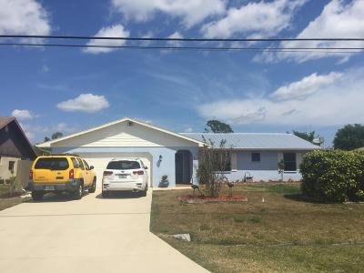Port Saint Lucie Single Family Home For Sale: 325 SW Whitmore Drive
