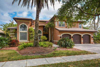 Boca Raton Single Family Home For Sale: 11725 Watercrest Lane