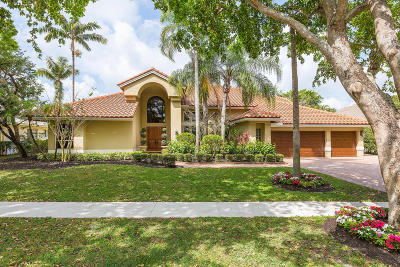 Boca Raton Single Family Home For Sale: 19091 Fox Landing Drive