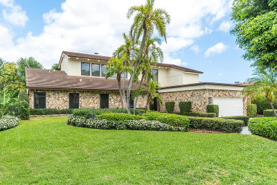 Single Family Home For Sale: 229 S Maya Palm Drive