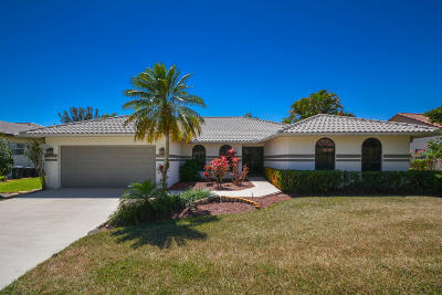 Boca Raton Single Family Home For Sale: 10086 Canoe Brook Circle