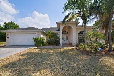 Port Saint Lucie Single Family Home For Sale: 470 SW McComb Avenue