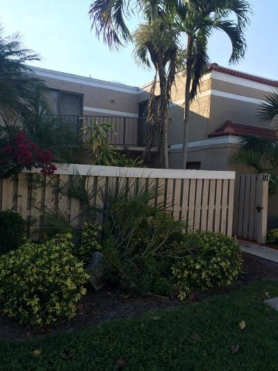 Delray Beach Townhouse For Sale: 3770 Village Drive #B