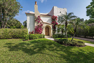 West Palm Beach Single Family Home For Sale: 231 Dyer Road