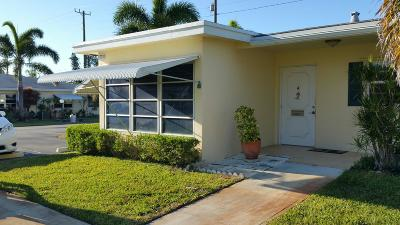 Boynton Beach Single Family Home For Sale: 3330 Post Road #A