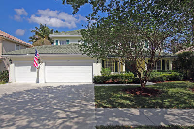 Jupiter Single Family Home For Sale: 1141 Egret Circle S