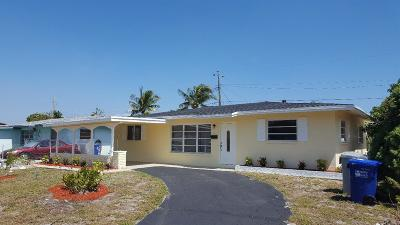 Pompano Beach Single Family Home For Sale: 2000 NE 1st Terrace