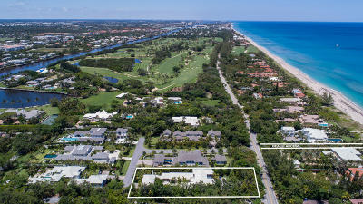 Gulf Stream, Ocean Ridge Single Family Home For Sale: 1220 Ocean Boulevard