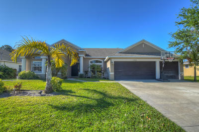 Port Saint Lucie Single Family Home For Sale: 1772 SW Starman Avenue