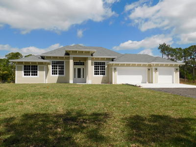 West Palm Beach Single Family Home For Sale: 11955 67th Place