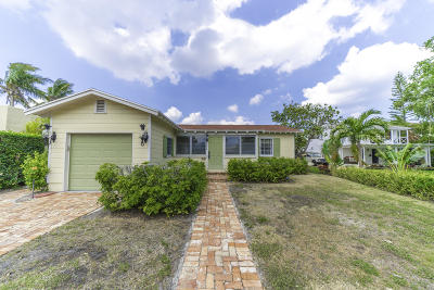 West Palm Beach Single Family Home For Sale: 209 Lakeland Drive