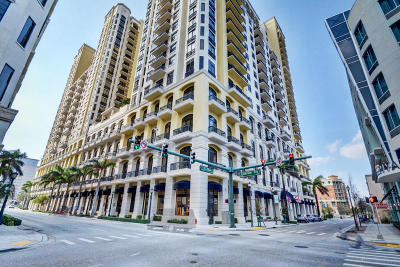 West Palm Beach Condo For Sale: 701 S Olive Avenue #1701