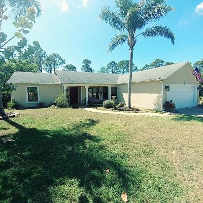 Port Saint Lucie Single Family Home For Sale: 2618 SW Ace Road