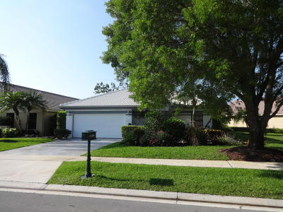 Boca Raton, Delray Beach, Boynton Beach Single Family Home For Sale: 21104 Cottonwood Drive
