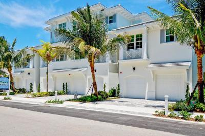 Boca Raton Townhouse For Sale: 953 Sweetwater Lane