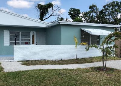 West Palm Beach Single Family Home For Sale: 5027 Eadie Place