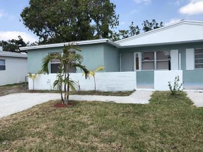 West Palm Beach Single Family Home For Sale: 5033 Eadie Place
