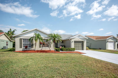 Boynton Beach Single Family Home For Sale: 9814 Goldenrod Drive