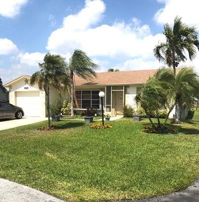 Lake Worth Single Family Home For Sale: 7449 Pine Park Drive S