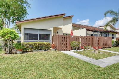 Delray Beach Single Family Home For Sale: 13959 Nesting Way #A