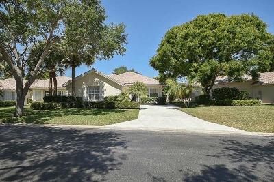 Palm Beach Gardens Single Family Home Contingent: 396 Kelsey Park Drive