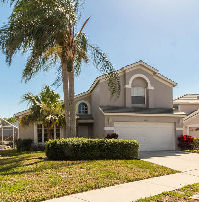 West Palm Beach Single Family Home For Sale: 2022 Normandy Circle